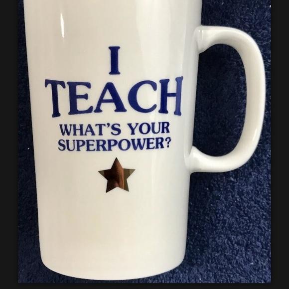 LARGE 20oz Coffee Tea Porcelain Mug. Perfect Cond.